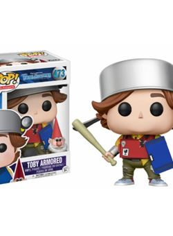 Figura POP! Vinyl Trollhunters Toby armored with gnome Exclusive Nº473
