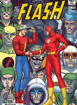 Flash #750 1960s Variant Cover Nick Derington (March 2020)