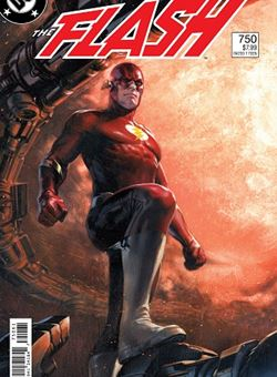 Flash #750 1980s Variant Cover Gabriele Dell'Otto (March 2020)
