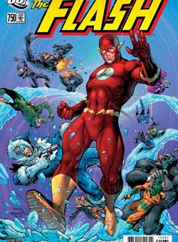 Flash #750 2000s Variant Cover Jim Lee, Scott Williams (March 2020)
