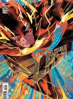 Flash #750 2010s Variant Cover Francis Manapul (March 2020)
