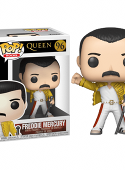 Freddie Mercury Wembley 1986 Funko Pop Queen Nº96
