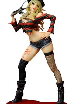 Freddy Krueger 2nd Edition Freddy vs. Jason Bishoujo PVC 1/7 18 cm