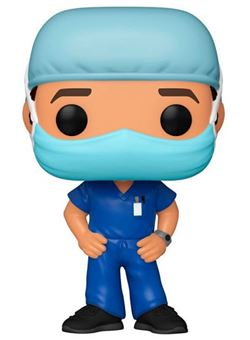 Front Line Worker Male Funko Pop 10cm