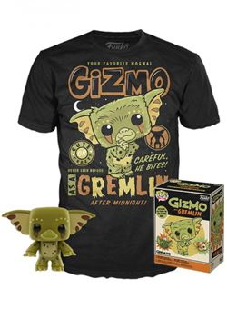Gizmo as Gremlin after Midnight heo Exclusive Set Pop y Camiseta talla L