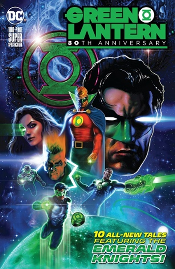 Green Lantern 80Th Anniversary 100 Page Super Spectacular Cover Liam Sharp (June 2020)