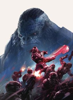 Halo Rise Of Atriox Nº1 Cover Aleksi Briclot (August 2017)