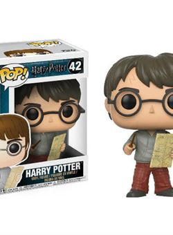 Harry Potter with Marauders Map Funko Pop 10 cm Nº 42