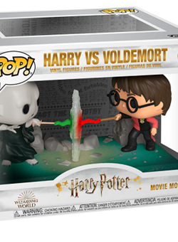 Harry VS Voldemort Movie Moment Funko Pop 10cm Nº119