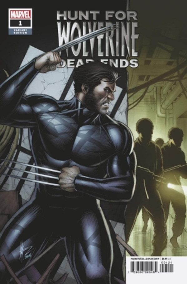 Hunt for Wolverine - Dead Ends #1 Variant Cover Dale Keown Art Ramon Rosanas (August 2018)