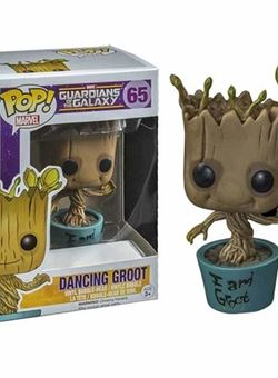 I am Dancing Groot Funko Pop 10dm Nº65