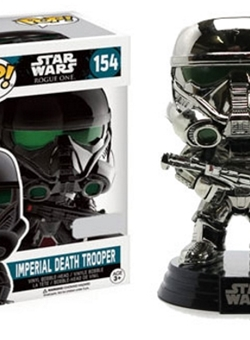 imperial Death Trooper Chrome Funko Pop 10 cm Rogue One Nº 154