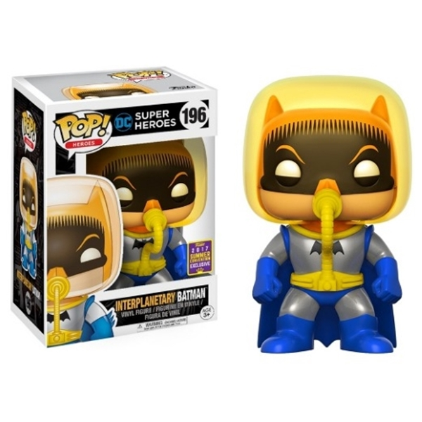 Interplanetary Batman Funko Pop 10 cm SDCC 2017 Exclusive Nº 196