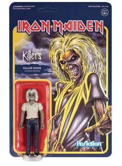 Iron Maiden Figura ReAction Killers (Killer Eddie)