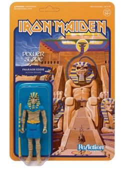 Iron Maiden Figura ReAction Powerslave (Pharaoh Eddie)