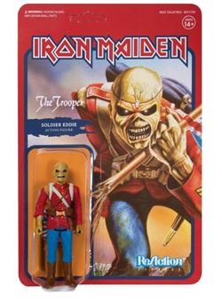 Iron Maiden Figura ReAction The Trooper (Soldier Eddie)
