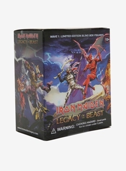 Iron Maiden Legacy of the Beast 10 cm Blind Box