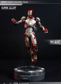 Iron Man Mark XLII Super Alloy Iron Man 3 1/12 15 cm