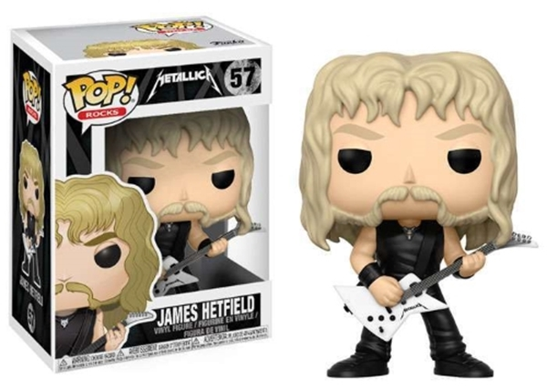 James Hetfield Funko Pop Metallica Nº 57