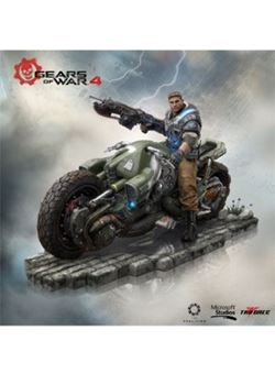 JD Fenix Gears of War 4 Estatua PVC Collector's Edition 28 cm