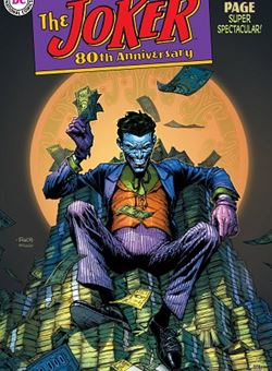 Joker 80Th Anniversary 100 Page Super Spectacular 1950s Variant Cover David Finch (June 2020)