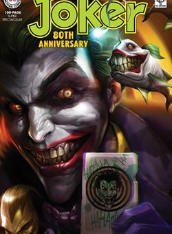 Joker 80Th Anniversary 100 Page Super Spectacular 1960s Variant Cover Francesco Mattina (June 2020)