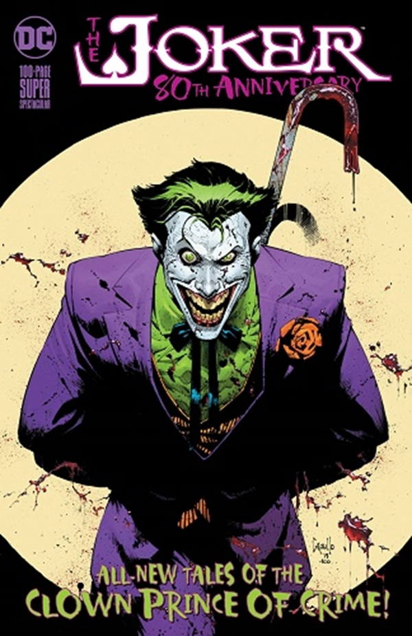 Joker 80Th Anniversary 100 Page Super Spectacular Cover Greg Capullo (June 2020)