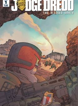 Judge Dredd Blessed Earth Nº1 Cover Ulises Farinas (April 2017)