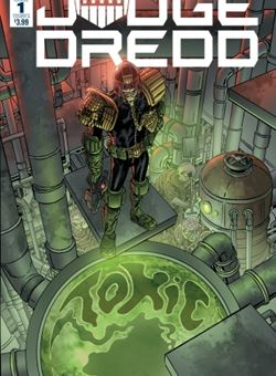 Judge Dredd Toxic Nº 1 Cover A Mark Buckingham (October 2018)