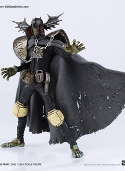 Juez Miedo Judge Fear 17 cm Judge Dredd 3A 2000 AD