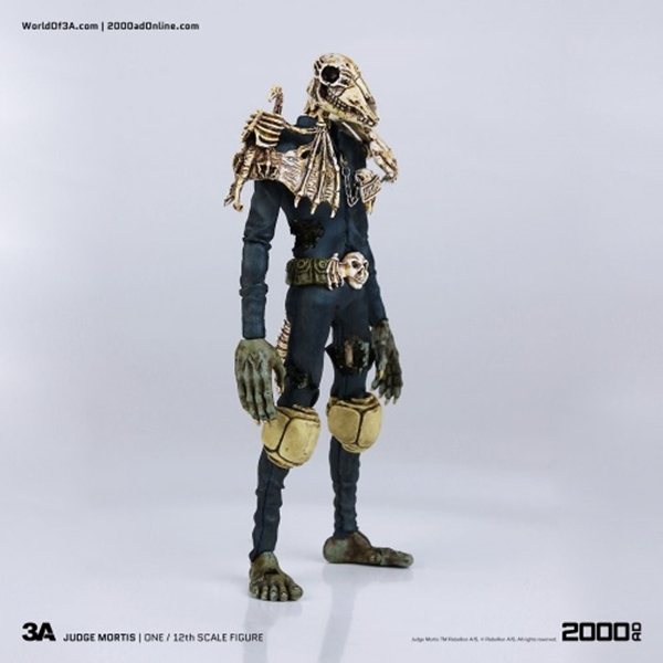 Juez Mortis Judge Mortis 17 cm Judge Dredd 3A