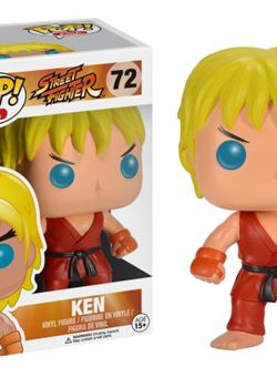 Ken Pop Vinyl Street Fighter