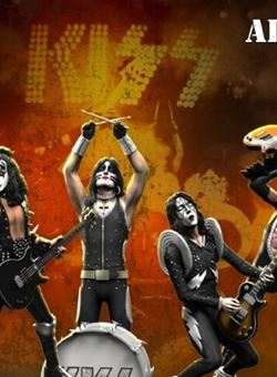 KISS (ALIVE!) 20 cm. Rock Iconz Set 4 estatuas 1/9