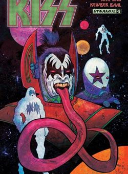 Kiss Nº 9 Cover A Kyle Strahm (June 2017)