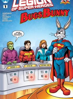 Legion of Super Heroes Bugs Bunny Special Nº1 Cover Tom Grummett (June 2017)