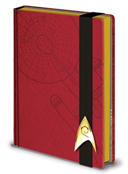 Libreta Premium A5 Engineering Red Star Trek