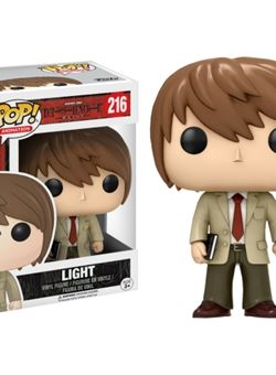 Light Funko Pop 10 cm Death Note Nº 216