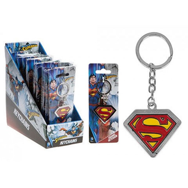 Llavero Superman DC Metal