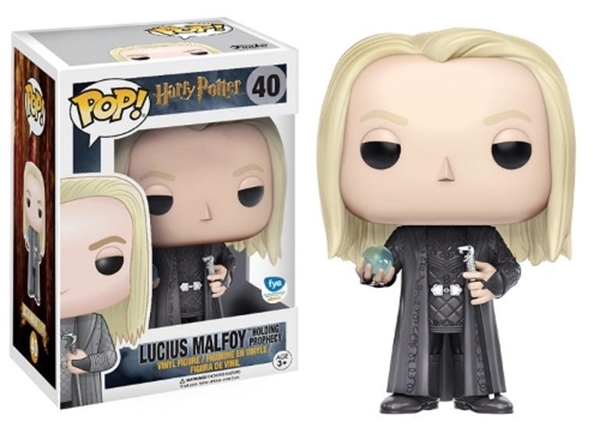 Lucius Malfoy (Holding Prophecy) Pop Vinyl 10 cm Nº 40