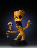 Marvel Animated Statue: Groot and Rocket Raccoon