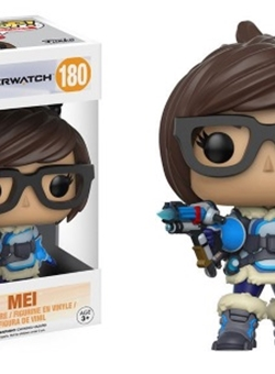 Mei Funko Pop Overwatch 10 cm Nº 180