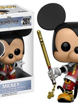 Mickey Funko Pop 10 cm Kingdom Hearts Nº 261
