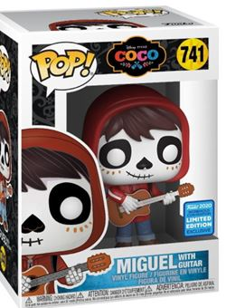 Miguel With Guitar Coco - Day of the Dead Makeup Convention Exclusive 10cm Nº741