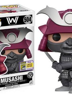 Musashi Funko Pop 10 cm Westworld Sdcc 2017 Exclusive Nº 504
