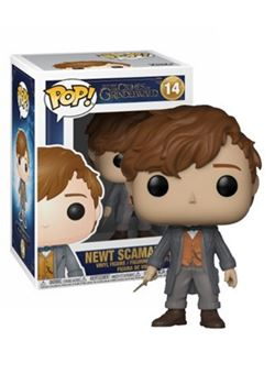 Newt Funko Pop 10 cm Nº14 Fantastic Beasts 2 The Crimes of Grindelwald