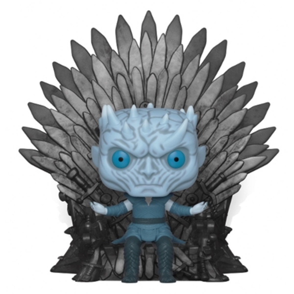 Night King on Iron Throne Funko Pop Deluxe Juego de Tronos 15 cm Nº74