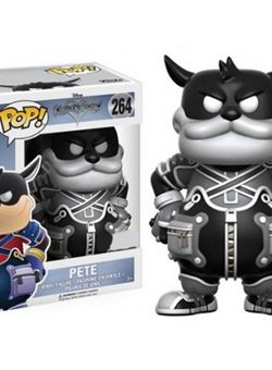 Pete (Black & White) Funko Pop 10 cm Kingdom Hearts Nº 264