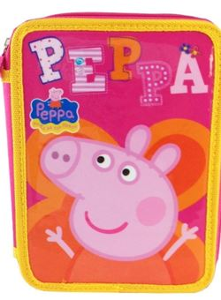 Plumier Peppa Pig doble