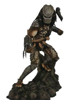 Predator Movie Gallery Estatua Jungle Predator 25 cm (Depredador)