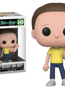Prison Sentinent Arm Morty Funko Pop 10 cm Nº340 Rick & Morty